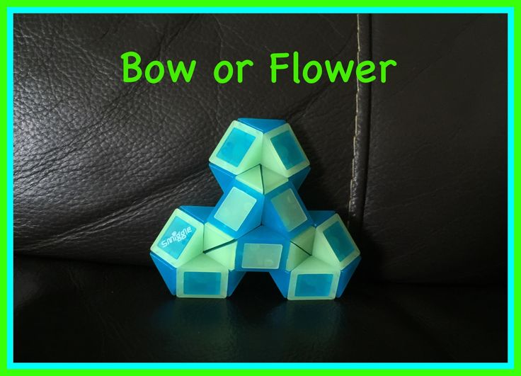 Smiggle Snake Puzzle (Rubik's Twist): How To Make A Bow or Flower Shape....  Check out the new Facebook Page where you will find images of all Antoine's video tutorials to date together with links to all his videos. Click the 'Like' button to see his Facebook posts when he uploads new videos https://www.facebook.com/AntoineTutorials :)