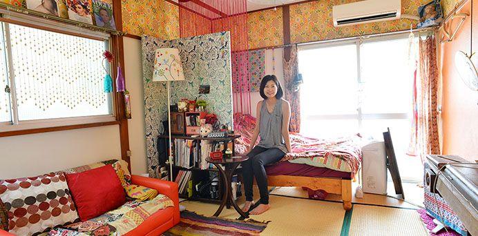 一人暮らしの可愛い部屋〜和室〜|「男女を問わない!可愛い部屋の作り方を実例から学ぼう」の6枚目の画像
