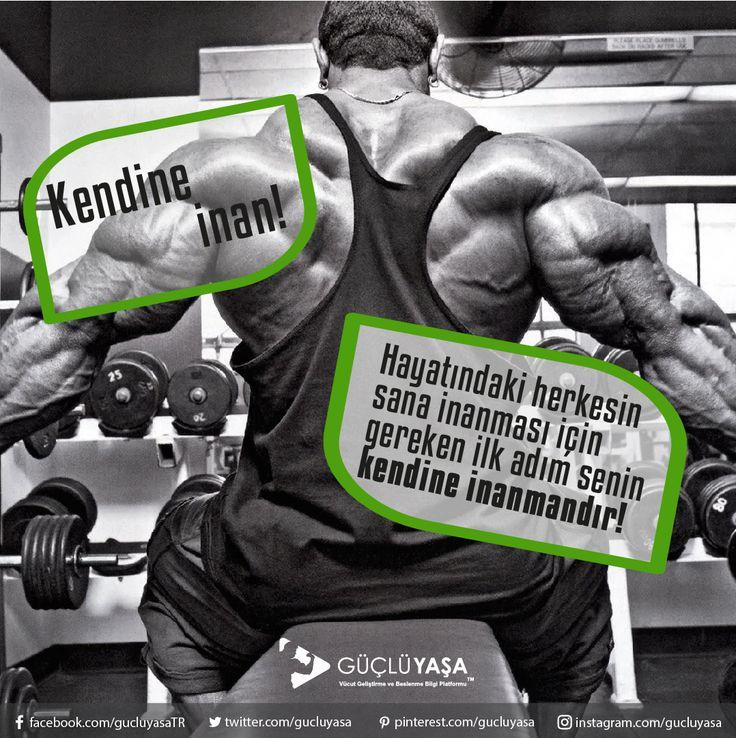 Kendinden asla vazgeçme! gucluyasa.com   #vücutgeliştirme #bodybuilding #egzersiz #gymmotivation #fitness #motivasyon #fitlife #fityaşam #spor #antrenman #idman #muscle #vücut #kadın #kadınlaraözel #arnold #halter #cardio #kardiyo #türkiye #güçlüyaşa