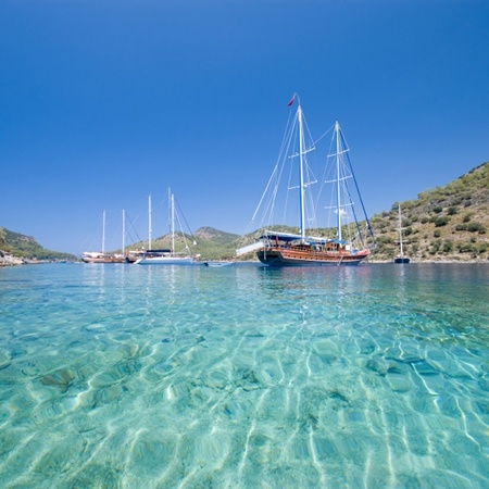 Marmaris Bay, Turkey.= i was here on a Gullet (yacht) in 1989, great holiday fantastic place