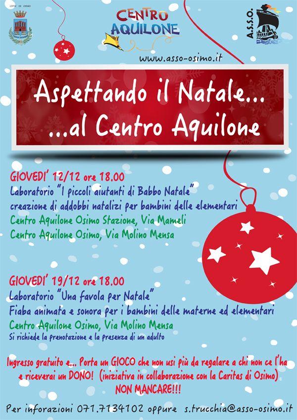 Aspettando il Natale... al centro Aquilone di Osimo!