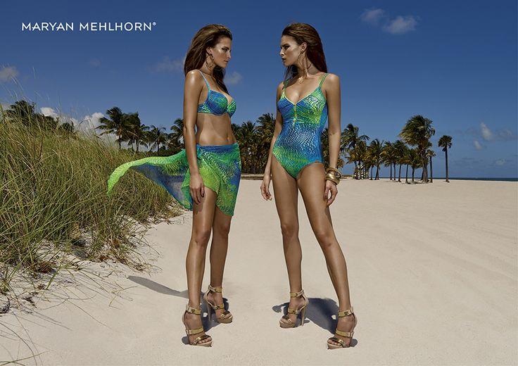#MaryanMehlhorn Spring Summer collection 2016 #beachwear #costumidabagno #beachfashion #beachstyle #bikini #pareo #costumeintero  #modamare #fashion #ss16