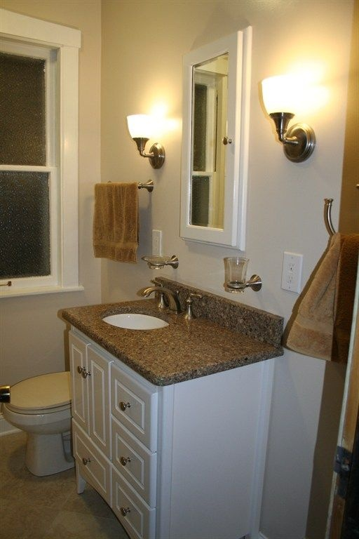 14 best images about bathroom redo on pinterest small for Nice small bathrooms