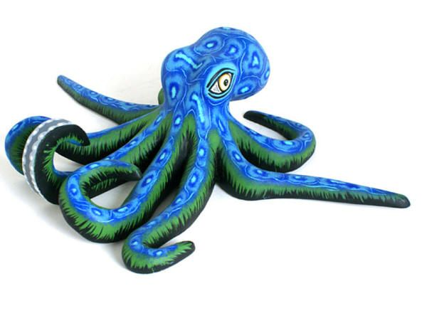 Oaxacan octopusALEBRIJES♦️More Pins Like This At FOSTERGINGER @ Pinterest ♦️