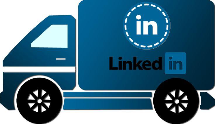 Caminhão LinkedIn - LinkedIn truck