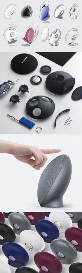 Ondrej Vaclavik – Harman Kardon ONYX MINI #harmankordon #audio #audiodesign #musicdesign #speaker #design #industrialdesign #productdesign