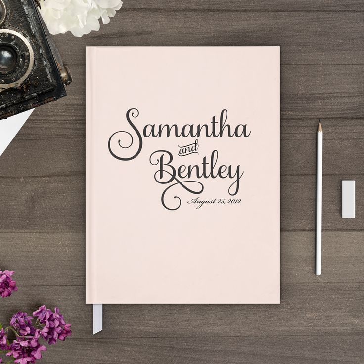 Nostalgic Imprints Inc. - Signatures, Rustic, Chic and Shabby Wedding Guest Book