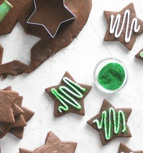 Check out this delicious recipe for Chocolate Cut-Out Cookies from 25 Merry Days at Kroger!