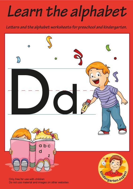 Letters Alphabet Worksheets For Preschool And Kindergarten Letter D Kindergarten Expert Free Printable In 2020 Alfabet Letters Thema Muziek