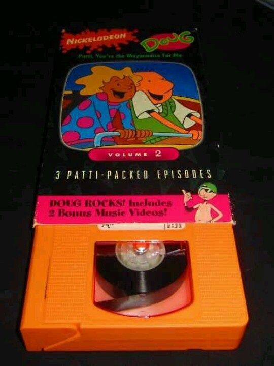 """AWESOME! I WANT THIS ON VHS CAUSE IT HAS MY #1 SONG FROM DOUG AND FRIENDS WHICH IS """"BANGIN' ON A TRASHCAN, THINK BIG!"""""""