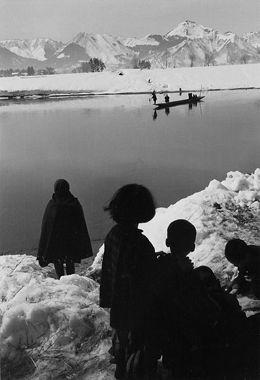 Ihei Kimura. JAPAN. Omono River, Omagari, 1953