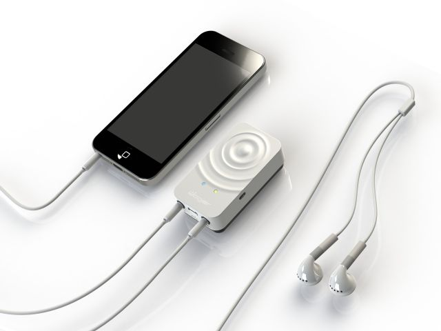 モバイルでも低音を「感じたい」人、コンパクトでウェアラブルなWoojerを試してみよう | TechCrunch Japan