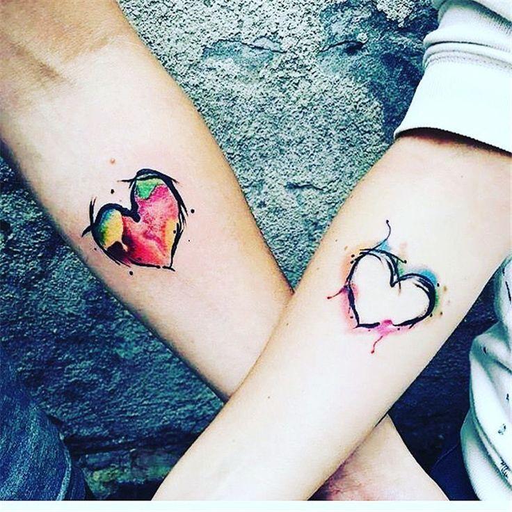 60 meaningful unique match couple tattoos ideas tattoo