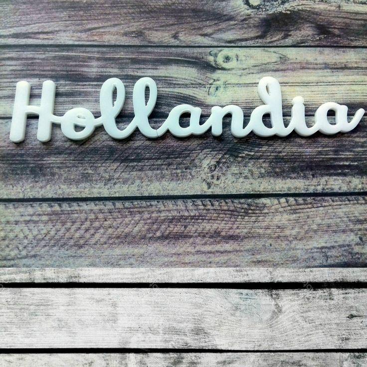 NőiCsizma | Hollandia-akril címfelirat