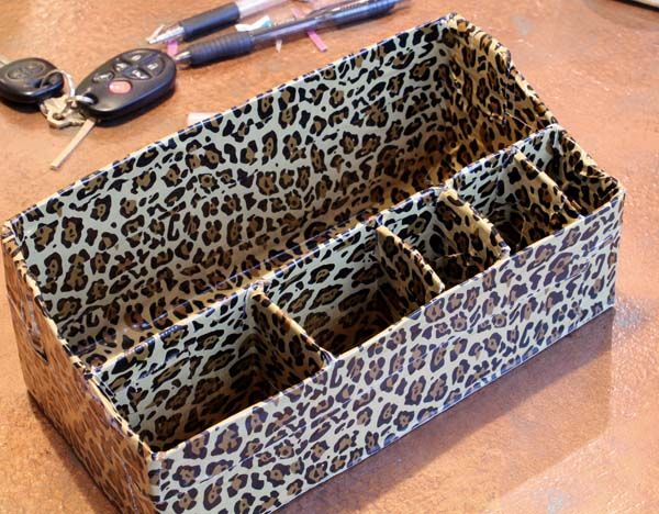 DIY Purse Organizer Using Duct Tape - No Sew