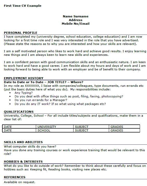 Cv Format For Uk Jobs Classic Cv Template In 2020 Job Resume Examples Job Resume Job Resume Template