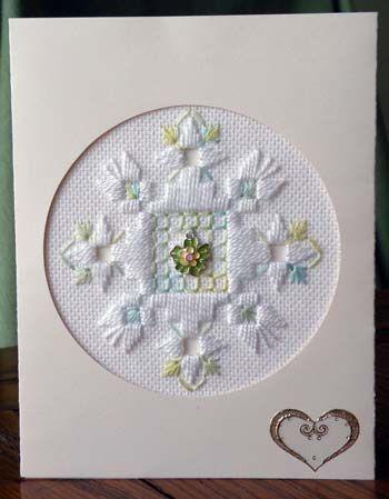 Delightfuls Card Kit - Round Kit (Hardanger)