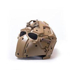 Mascara Obsidian Militar táctico de Airsoft Paintball Casco Protector Máscara