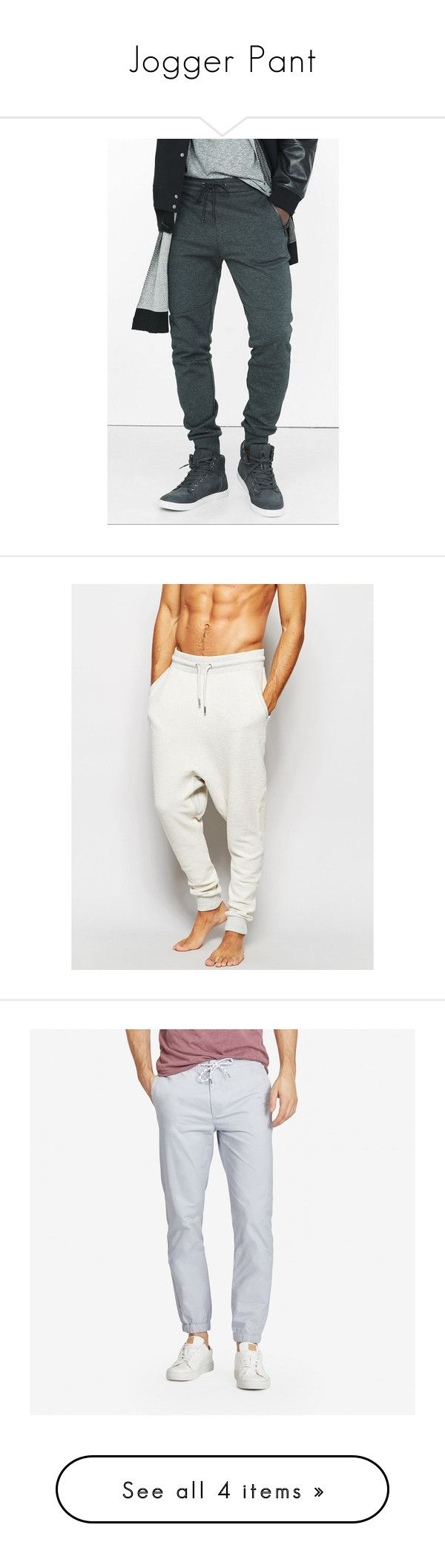 """""""Jogger Pant"""" by josselynne9725 ❤ liked on Polyvore featuring menswear, men's fashion, men's clothing, men's activewear, men's activewear pants, grey, off white and black gravel"""