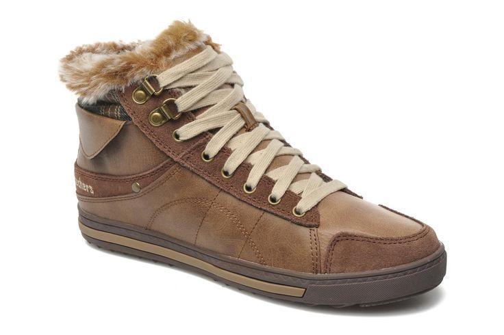 Skechers Kicks Coolest 47971 (Marron) - Baskets chez Sarenza (161692) 60€