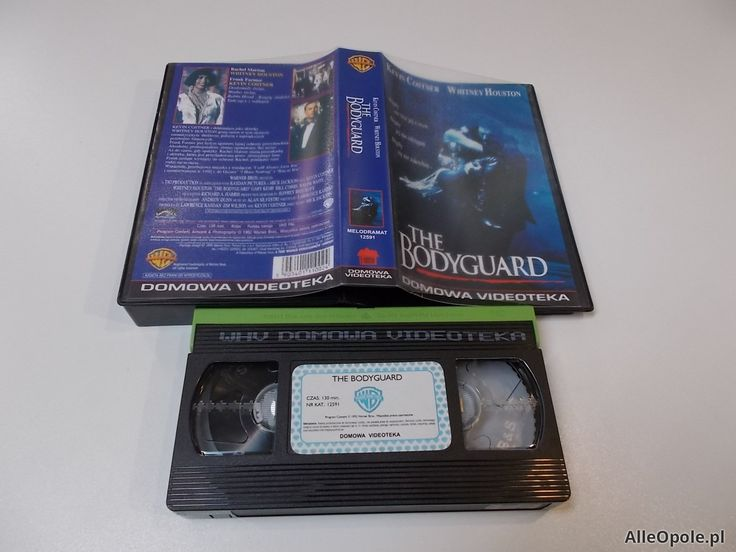 THE BODYGUARD - VHS Kaseta Video - Opole 1689 (Opole)
