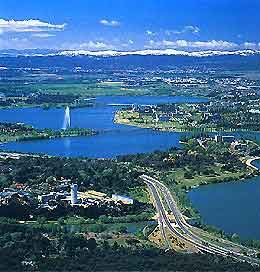 Canberra, Australia - met Luisa there, Feb 17-20, 2012.  Capital City of Australia.