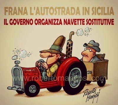 INSERTO SATIRICO: Trazzera Regia