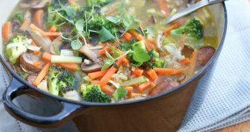 Nydelig varmende supper på kjølige vinterdager er topp for både kropp og sjel.