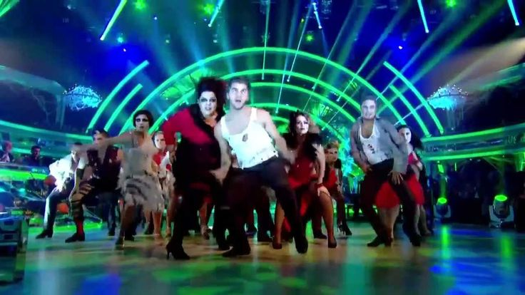 Opening group dance ~ Halloween Week ~ Strictly 2012