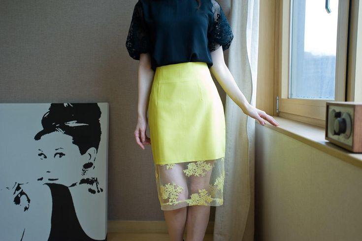 laced midi skirt from Kakuu Basic. Saved to Kakuu Basic Skirts. Shop more products from Kakuu Basic on Wanelo.