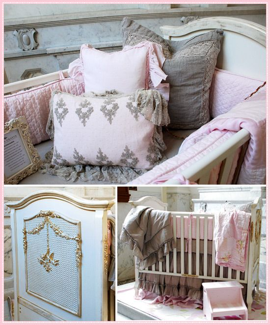 Soft And Elegant Gray And Pink Nursery: I Love Pink And Grey Together. How Cute Is This For A