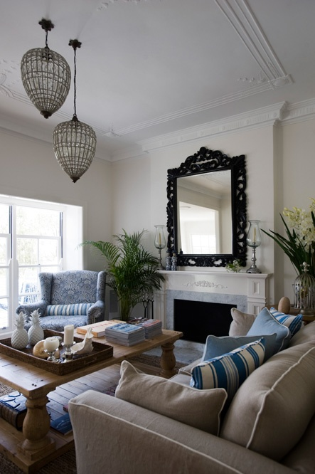 11 best Blue and Cream living room ideas images on ...