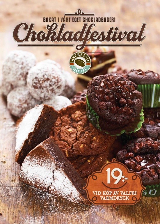 Chocolate festival 2012. We have many guests who are chocolate fanatics, that's why our Chocolate Festival campaign makes a comeback every year. Chocolate Balls, Manhattan Brownies, Choco Four, Mudcake and Chocolate Brownies all for you! (Offer no longer available)