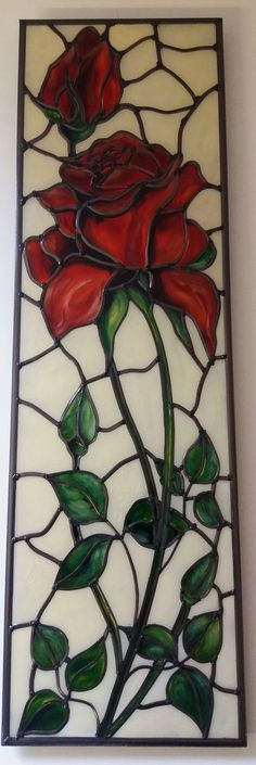 A bespoke Art Nouveau Tiffany style and by DouglasPayneDesigns