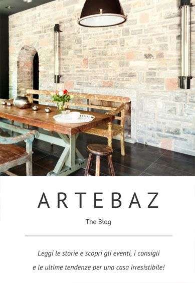Introducing our company's blog, ARTEBAZ!  It is the result of Artesanbazar team efforts when brainstorming for naming.   - 'ARTE' is the Italian word for 'ART' and it recalls as well the Artisan's work as the focus of our business relies entirely on Handicraft Made in Italy;  - 'BAZ' is the shorten version of 'BAZAR', for us the palce where tradition and art meet when it comes to Mediterranean Cultures.  Read our stories and tell us what you think!