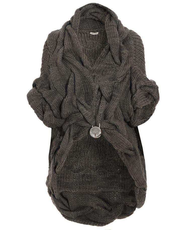 Вязаное пальто, кардиган, Coat