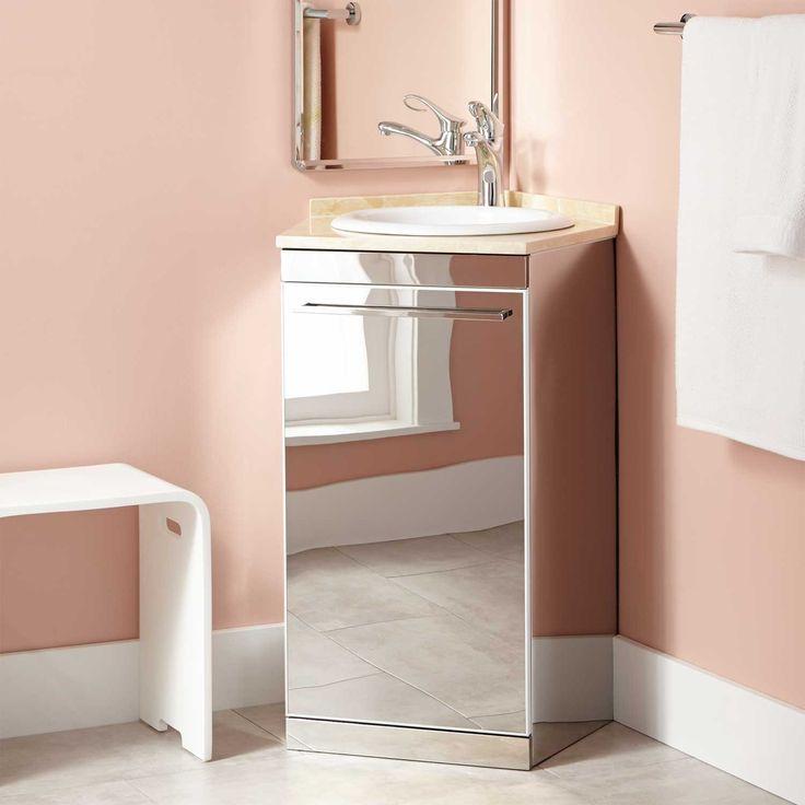 1000 ideas about corner vanity on pinterest corner