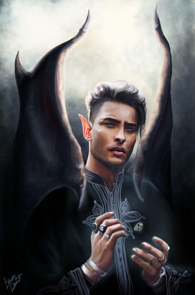 Rhysand by bloodydamnit