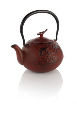 Year of the Monkey Cast Iron Teapot- as I was born in the year of the monkey, you see.