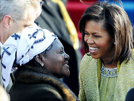 Obama's father left a wife and two children in Kenya. Obama's father was a Kenyan Senior Governmental Economist. He had a wife, Kezia (pictured below), and two children back in Kenya when he was selected for a special program to attend College in the US. Barack Obama Sr.'s father was opposed to his son's marriage to Ann, not only because she was Caucasian, but also because he thought his son would obviously neglect his wife and two children in Kenya.