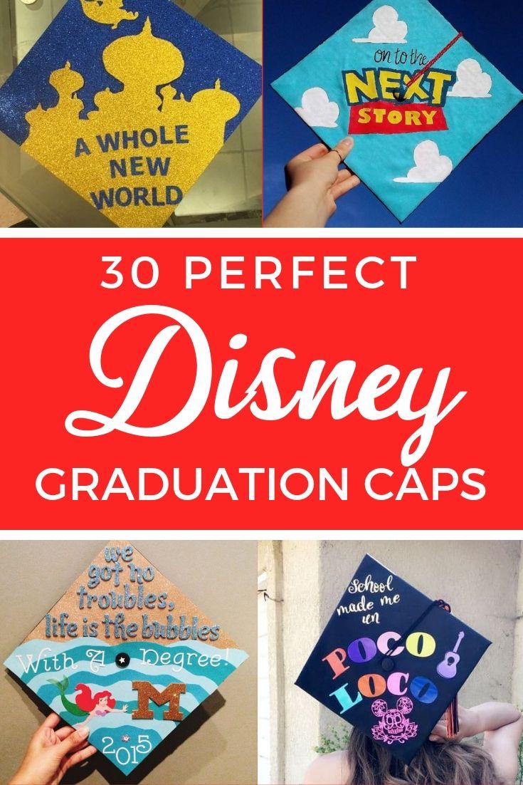 30 Magical Disney Graduation Caps Disney Graduation Cap Disney Graduation Graduation Cap Toppers