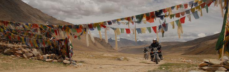 On the way to Tso-mo-riri, it's an altitude lake located on Indo-Tibet lake.