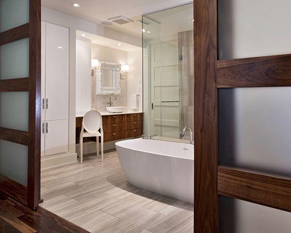 bathroom ideas   Ensuite Bathroom Design by VOK Design Group   Modern Interiors