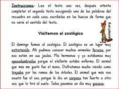 CLAVES DE CONTEXTO - UNA TAREA DE COMPRENSIÓN LECTORA -