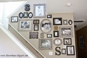 how to create a gallery wall, home decor, wall decor