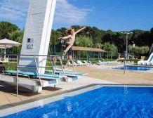 Jumping board at Cypsela Resort #summer #swimmingpool #cypsela