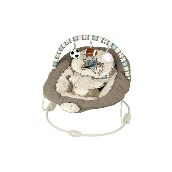 BabyTrend.COM - Bouncers - BC26983 : Trend Bouncer - All Star ❤ liked on Polyvore featuring baby, baby stuff, kids, baby boy and baby things