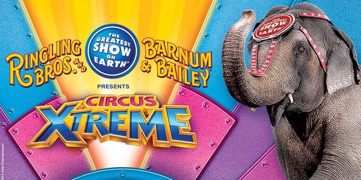 Ringling Bros. and Barnum & Bailey Presents Circus XTREME in #Cincinnati #CircusXtreme