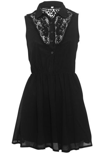 Chiffon Skater Dress, £23.99    http://www.attitudeclothing.co.uk/product_32032-123-2417_Chiffon-Skater-Dress.htm