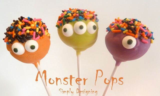 Another cake pop DIY option. Use candy melts.